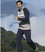 Jogging-Anzug aus Molton preview1