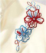 Zestaw 2 swetrów z mikropolaru z haftem