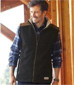 Bodywarmer van fleece en sherpa preview1
