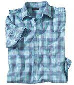 Krepová košeľa Azur Stripes preview2