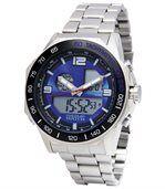 Sportief chrono horloge met dubbele tijdweergave preview1