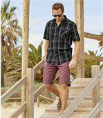 Men's Trendy Chino-Style Shorts