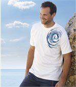 T-Shirt im maritimen Look preview1