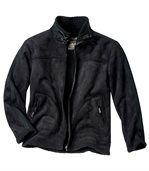 Semišová bunda s umělou kožešinou preview2