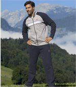 Jogging-Anzug aus Molton preview2