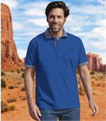 Pack of 2 Men's Legendary Arizona Polo Shirts - Blue Navy Blue preview3