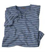 Tričko so šnurovanímv námorníckom štýle preview2