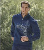Wygodna sportowa bluza z moltonu preview1