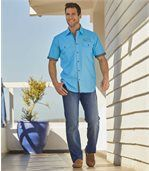 Súprava 2 elastických džínsov Regular