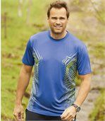 Pack of 2 Men's Sport Xtrem T-Shirts - Blue Green
