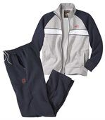 Men's Navy Blue Super Soft Tracksuit - Brushed Fleece preview3