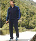 Sportief joggingpak van fleece preview1