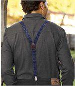 Men's Blue Longmont Braces