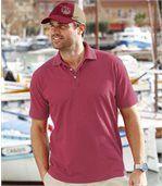 3er-Pack melierte Poloshirts Tramuntana Bay preview3