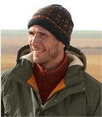 Men's Knitted Outdoor Beanie with Fleece Lining preview1