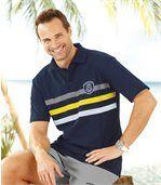 Men's Navy Blue Polo Shirt preview1