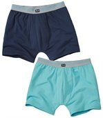 Lot de 2 Boxers Homme - Bleu Marine - Confort preview1