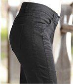 Pohodlné kalhoty nad kotníky preview3