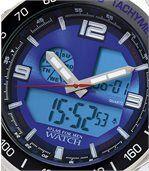 Sportief chrono horloge met dubbele tijdweergave preview2