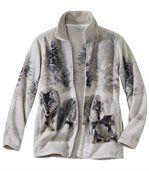 Polarowa bluza Wilki preview2