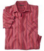 Men's Coral Short Sleeve Shirt - Palm Sun preview2