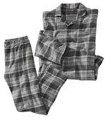 Karierter Schlafanzug aus Flanell preview2