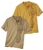 Set van 2 Tahua T-shirts preview1