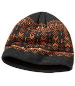 Men's Knitted Outdoor Beanie with Fleece Lining preview2
