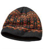 Pletená outdoorová čepice podšitá fleecem preview2