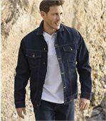 Kurtka jeansowa podszyta kożuszkiem sherpa preview3