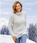 Perzikzachte coltrui van tricot preview1