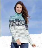 Pull Tricot Jacquard preview1