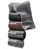 Sada 5 párů ponožek Komfort preview1