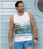 Set van 2 Beach Paradise tanktops preview2