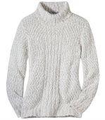 Melanżowy sweter z golfem preview2