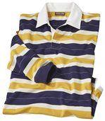 Men's Striped Polo Shirt - Jersey preview2