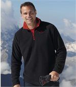 3er-Pack Poloshirts aus Microfleece preview2