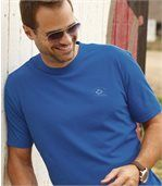 Men's Pack of 4 T-Shirts - Ecru Blue Yellow Navy preview2