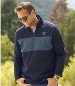 Set van 2 flanellen Sportmen sweaters preview3