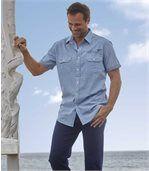 Popelínová košeľa Palm Beach