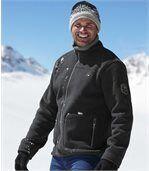 Polarowa bluza Winter Time podszyta kożuszkiem sherpa preview2
