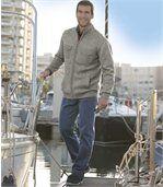 Strečové džíny Blue Used svymytým efektem preview2