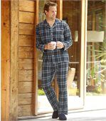 Teplé a pohodlné flanelové pyžamo preview1