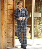 Wygodna i ciepła flanelowa piżama preview1