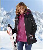 Women's Black Ski Coat