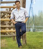 Stretch-Jeans mit Regular-Fit preview2