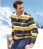 """Gestreiftes Poloshirt """"Rugby"""" preview1"""