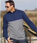 Set van 2 tweekleurige Sportwear Sweaters preview3