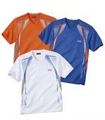 3er-Pack T-Shirts Sport Men