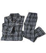 Warmer und bequemer Flanell-Schlafanzug preview2